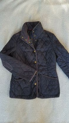 Womens Size 16 18 New Quilted Padded Zip Popper Jacket Red Coral Ladies Coat