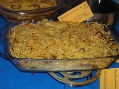 Spätzle met kaas en uien ( soort oostenrijkse pasta )