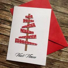 Vánoční přání se stromečkem Kids Christmas, Christmas Decorations, Watercolor Christmas, Cards, Noel, Maps, Playing Cards, Christmas Decor, Christmas Tables