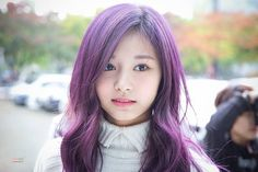 @jollygirlgroupstan ; Twice  ~ tzuyu ~ *purple hair #kpop #kpoplover #kpopidols #kpopfan #ilovekpop #kpopcover #cosmicgirls #wjsn #redvelvet #4minute #gfriend #apink #twice #bts #aoa #clc #girlsgeneration #ohmygirl #exid #laboum #seventeen #sistar #gu9udan #sonamoo #mamamoo #crayonpop #TT