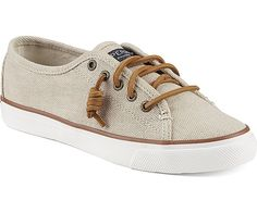 SPERRY Waxy Canvas Seacoast Women   Natural