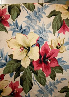 Fabric #1 - Vintage Barkcloth