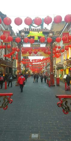 Chinatown nel London, Greater London