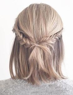 Cross Braids Ideas for Medium Length Hairstyles 2018