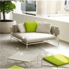 Contemporary Outdoor Bench & Sofa from Paola Lenti