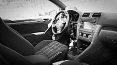 GTI interior shot this with my iPhone. Mk6 Gti, Iphone, Interior, Indoor, Interiors