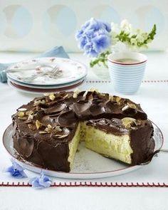 Das Rezept für Apfel-Schokoladen-Torte und weitere kostenlose Rezepte auf LECKER.de