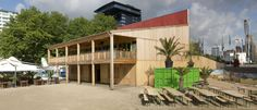 MONADNOCK - SELECTED PROJECTS - PAVILION 'STRAND AAN DE MAAS'