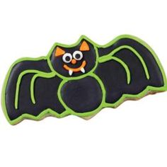 Black Bat Cookie Here S The Real Scary Deal Everyone Expects Cats On And You Can Serve Them This Friendly Alternative