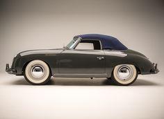 Photos courtesy Petersen Automotive Museum, unless otherwise noted. Vintage Porsche, Vintage Cars, Antique Cars, Porsche Sports Car, Porsche Cars, Convertible, Porsche 356 Speedster, Ferdinand Porsche, Car Manufacturers