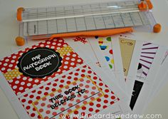 Autograph book {free printable}