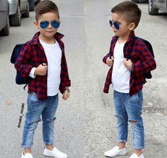 33 Ideas Baby Kids Fashion Swag For 2019 Toddler Boy Fashion, Little Boy Fashion, Toddler Boy Outfits, Toddler Boys, Boys Fashion Wear, Baby Kids, Fashion Clothes, Outfits Niños, Baby Outfits