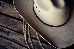 hat and rope