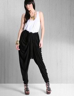 7 Harem pants pattern