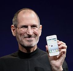"""Steven Paul """"Steve"""" Jobs (February 24, 1955 – October 5, 2011) was an American entrepreneur and inventor, best known as the co-founder, chairman, and CEO of Apple Inc. Through Apple, he was widely recognized as a charismatic pioneer of the personal computer revolution and for his influential career in the computer and consumer electronics fields, transforming """"one industry after another, from computers and smartphones to music and movies..."""""""
