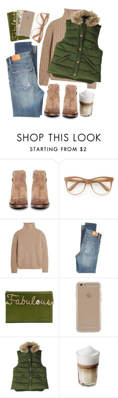 """""""Winter"""" by goycotwo ❤ liked on Polyvore featuring H by Hudson, Wildfox, Totême, Citizens of Humanity, Charlotte Olympia, OPTIONS, Agent 18, Stormy Kromer, Winter and Sweater"""