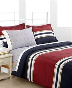 Tommy Hilfiger Bedding Brookfield Stripe Comforter Sets Kids Room Pinterest Guy Bedroom And Rooms