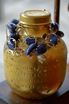Polished sapphires... just the thing for a rainy day!   mabelchongjewelry
