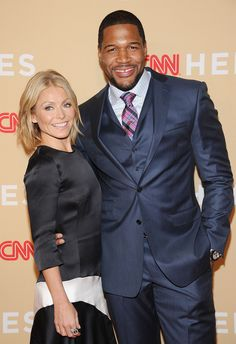 """REPORT: Kelly Ripa is """"Furious"""" Over Michael Strahan's 'Live! With Kelly and Michael' Departure"""