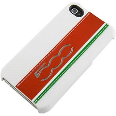 #FIAT 500 Series Hard Shell Case for #iPhone 4 & 4S, Cinquecento White $19.99 From #DayDeal