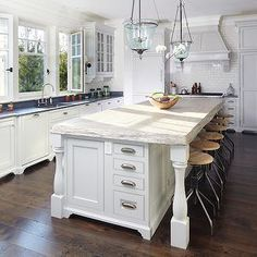 Rough Hewn Countertop, Transitional, kitchen, The Anderson Studio