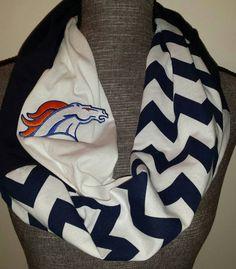 Denver Broncos Infinity Scarf