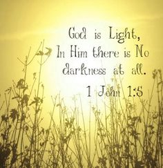 God is light, and in Him there is no darkness at all. - 1 John 1:5 May His light shine in our hearts to reveal any hidden chametz needing to be removed.