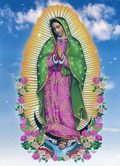 Mary Jesus Mother, Blessed Mother Mary, Divine Mother, Mary And Jesus, Blessed Virgin Mary, Religious Tattoos, Religious Icons, Religious Art, Religious Pictures