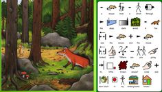The Gruffalo PowerPoint story Julia Donaldson - Resources - TES Special Education Activities, Kids Learning Activities, Classroom Activities, Gruffalo Eyfs, The Gruffalo, Julia Donaldson Books, Makaton Signs, Read A Thon, Speech Therapy Autism