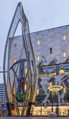 Rotterdam Architecture, Pavilion Architecture, Sustainable Architecture, Residential Architecture, Beautiful Architecture, Contemporary Architecture, Marcel Breuer, Unusual Homes, Eindhoven