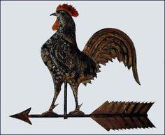coolest chicken weather vane ever                                                  ****