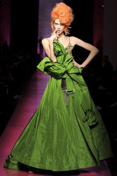 See the complete Jean Paul Gaultier Spring 2012 Couture collection.