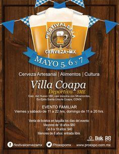 Festival de la Cerveza #CDMX 5-7 mayo 2017