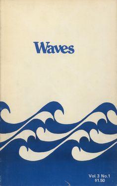 "A visual representation of my mind's ""Like"" button Wave Illustration, Graphic Design Illustration, Retro Surf, Vintage Waves, Design Graphique, Surf Art, Ocean Art, Print Patterns, Surfing"