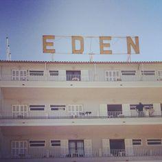 Fifties signage, Port d' Sollér, Mallorca.