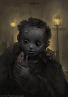 Peter aka Sabbas Apterus is a talented digital artist and illustrator based in Banska Bystrica, Slovakia. If you're into fantasy and concept art, below you may Dark Fantasy Art, Fantasy Kunst, Arte Horror, Horror Art, Character Inspiration, Character Art, Vampire Masquerade, Arte Obscura, World Of Darkness