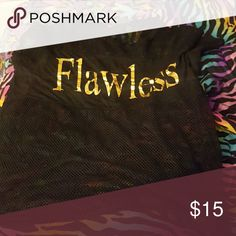 Flawless Shirt See through Tops Tees - Short Sleeve