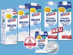 Mit einem Laktosegehalt von weniger als 0,1g / 100g ermöglichen alle MinusL Produkte beides: die Versorgung mit allem Guten aus der Milch und sehr gute Bekömmlichkeit - auch bei einer ausgeprägten Laktose-Intoleranz.
