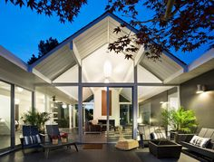 Beautiful Eichler home remodeled. #architecture