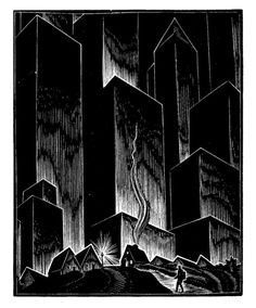 Depression-Era Woodcuts by Lynd Ward, Father of the Graphic Novel | Brain Pickings