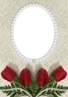 Roses and Pearls Transparent PNG Frame Flower Background Wallpaper, Frame Background, Flower Backgrounds, Frame Border Design, Photo Frame Design, Rose Frame, Flower Frame, Family Photo Frames, Picture Frames