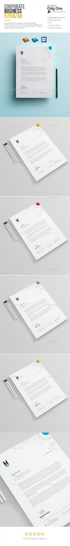 Free Printable Business Letterhead Templates Corporate Letterhead Design  Letterhead Design Template And .