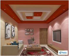 6 Valiant Tips AND Tricks: False Ceiling Living Room House false ceiling design modern.False Ceiling Dining House simple false ceiling home. False Ceiling Living Room, Ceiling Design Living Room, Living Room Designs, Living Rooms, Bedroom False Ceiling Design, Bedroom Ceiling, Deco Led, Plafond Design, Colored Ceiling