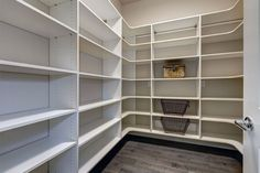 Let us upgrade your pantry! #NaplesClosets #CustomClosets #Closet #NaplesFL #Pantry #Organize #Cabinetry