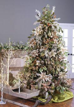 2014 Emerald Cottage Tree by RAZ Imports