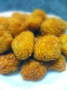 They are called Quepapas. Quepapas are basically tater tots filled with cheddar cheese and a jalapeño bite to them