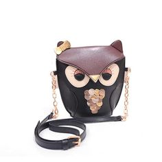 Amonfineshop(TM) Cute Owl Print Satchel Messenger Shoulder Bag Handbag Cross Body Purse: Amazon.co.uk: Clothing I'm totally in love with this satchel. Will have to get one for my owl mad friend and maybe one for myself! Why not with the price being so low!!!