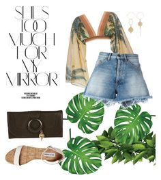 """Summer Vibes"" by alysha-miranda on Polyvore featuring Rika, Água de Coco, Off-White and See by Chloé"