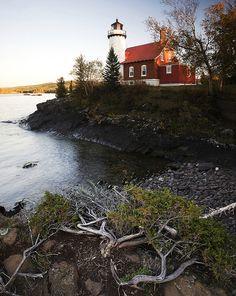 Eagle Harbor Lighthouse, Eagle Harbor, Michigan.
