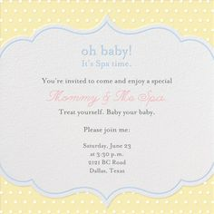 1000 images about spa invitations on pinterest for 221 post a salon
